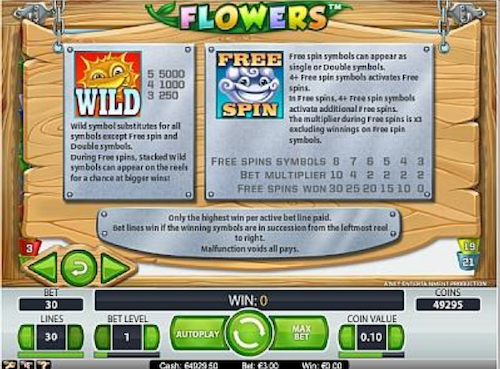 free flower power game