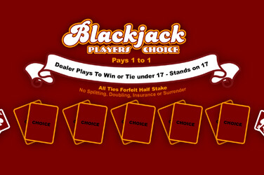 Blackjack Players Choice